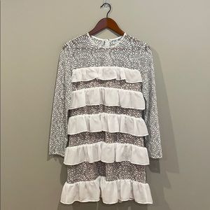 NWOT ASOS | Tiered Ruffle & Lace Dress